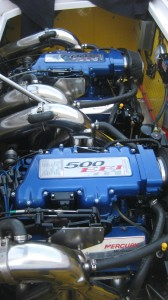 Mercury 500 EFI Offshore race engines with 500hp each
